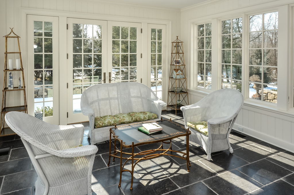 Sunroom for all seasons