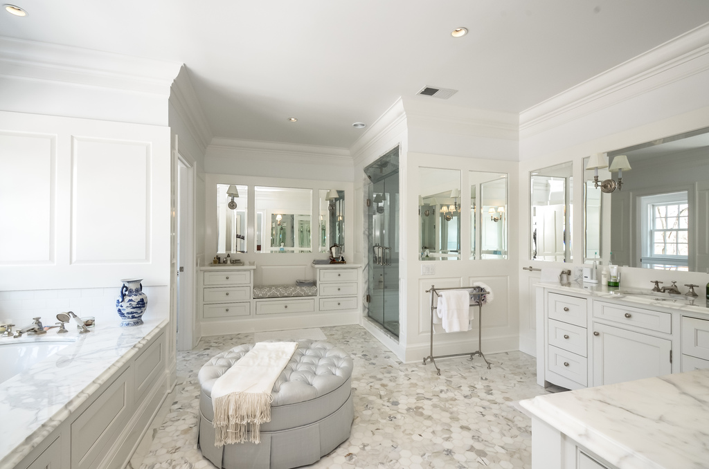 Middlesex stunner no longer on the market for Master bathroom closet design ideas
