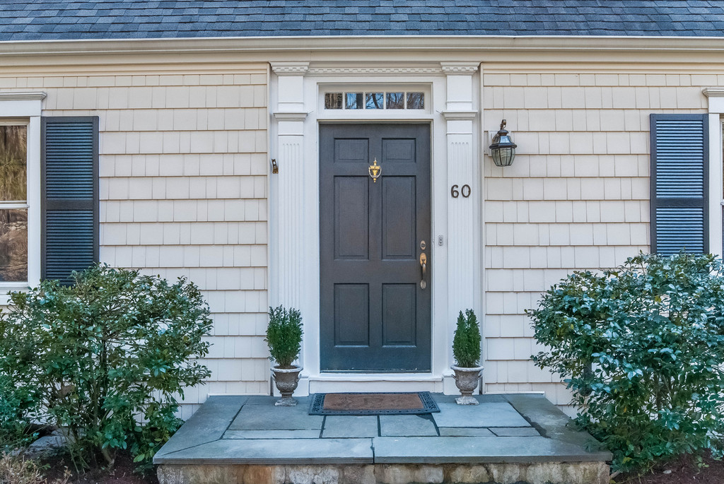 The front door.  A very important place to start.  The house has fantastic curb appeal.
