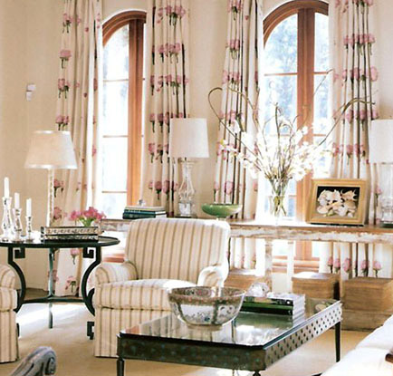 Another living room I love by Suzanne Kasler.