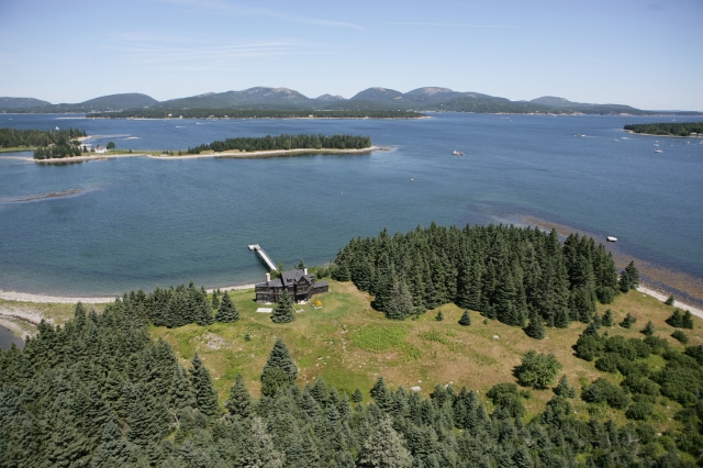 Fish Point on Great Cranberry Island