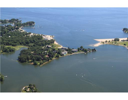 A compound over looking Holly Pond and Long Island Sound.