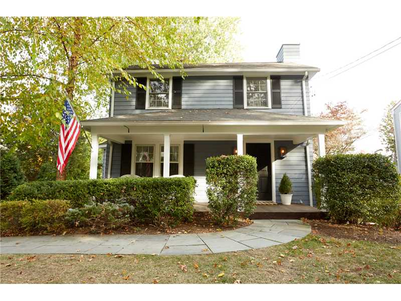 A wonderful 1921 Colonial with that fabulous front porch.