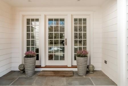 Who needs a front door when the back door looks like this!