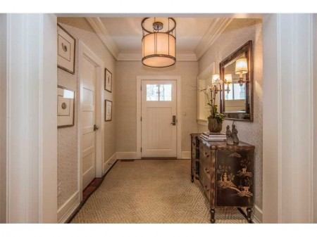 Welcome.  An inviting front hall, lots of closets and the gateway to a very livable house.