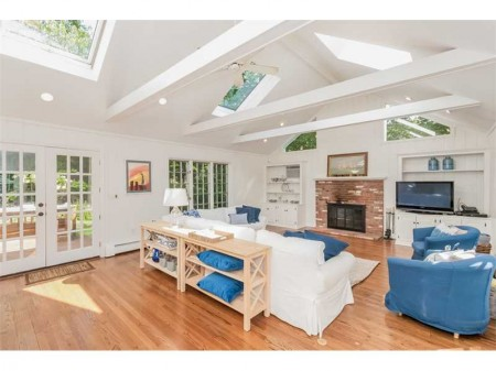 The family room that eludes most houses in this price range.