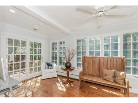 And the extra bonus sun room.  There is so much potential here.