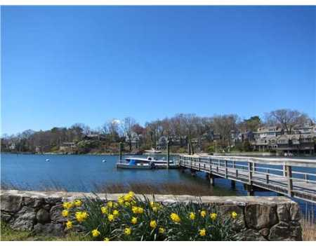 One of the points of view from 8 Point Road.  Asking $2,995,000 listed at Sotheby's/Darien.