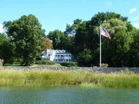8 Point Road in Wilson Point. Listed by Sothebys/Darien.