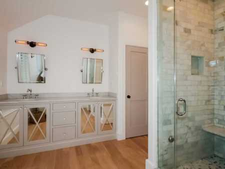 "Moving on from 'fab master bath"", we are going straight for 'KILLER"" master bath!"