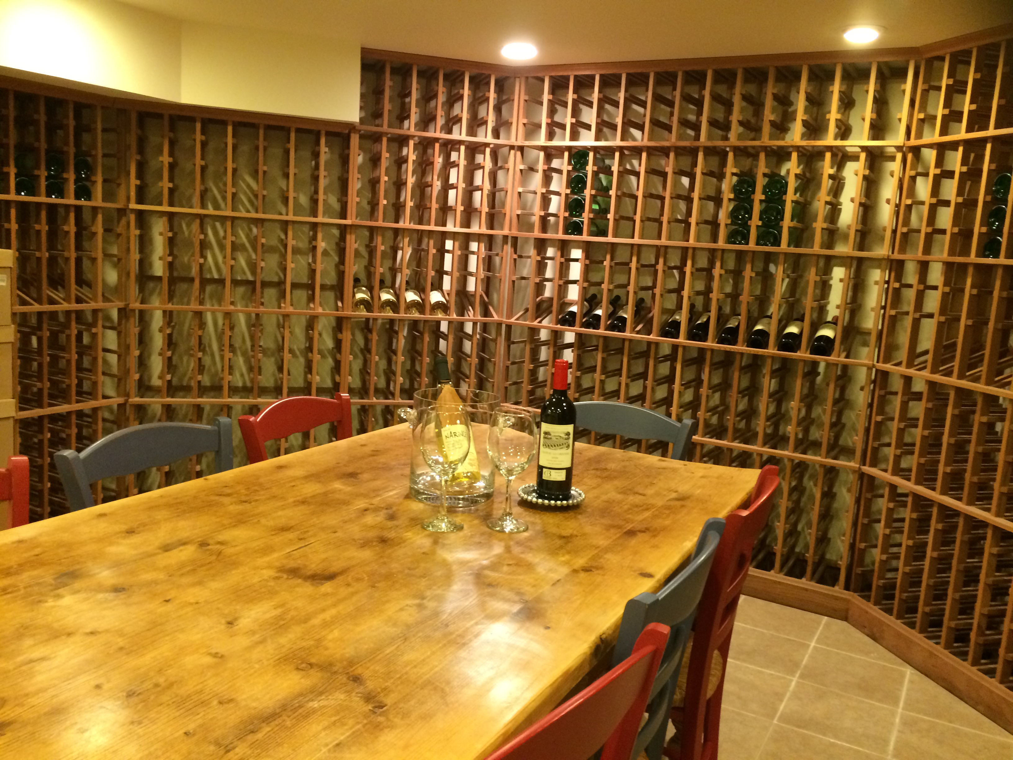 and then there is the wine cellar