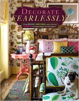 Let your hair down and do what you like!  Susannah's book is a glorious collection of rooms and ideas that will inspire you to do just that!