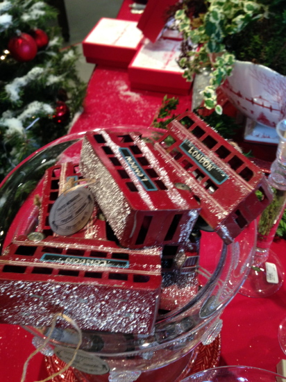 So many fabulous ornaments, a favorite hostess present or ours.
