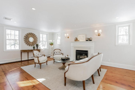 The formal living room will be a great gathering spot for 'grown up' evenings.
