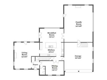 Floor plans are always helpful. There is a lot of opportunity for expansion here as well.