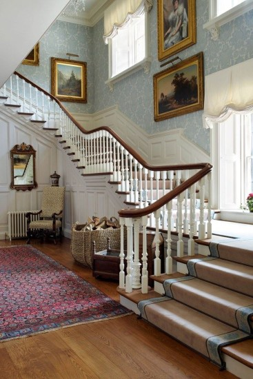 I love this photograph (House & Garden 2015) and pictured instantly as I looked up the stairs at 461 Middlesex.