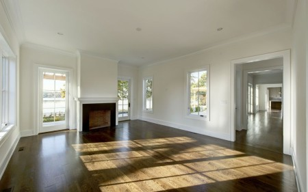 custom color on the floors bring out a perfect tone in the floors.