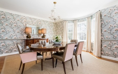 The decorating and the detail in this house deserves its own blog. Pimlico was hired for this job and they deserve a shout out for this one. It's absolutely gorgeous.